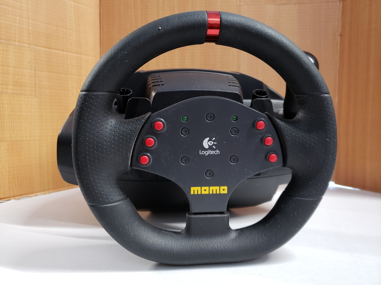 40736e1cfcf prev. next. prev. next. Availability: Out of stock. Logitech Momo Steering  Wheel and Pedals for PC