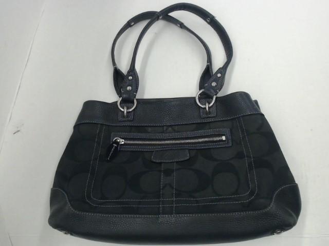 9c20962ae7f0 Coach black purse hand bag
