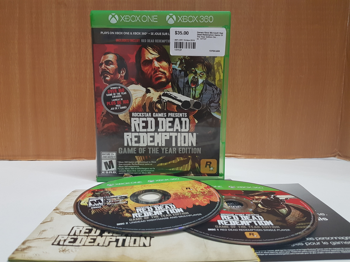 XBOX ONE Red Dead Redemption Game of the Year Edition | Avenue Shop