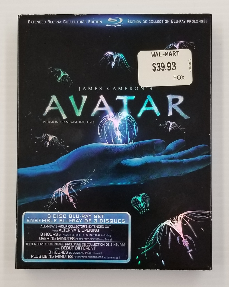 AVATAR 3-DISC EXTENDED BLU-RAY COLLECTOR'S EDITION | Avenue Shop