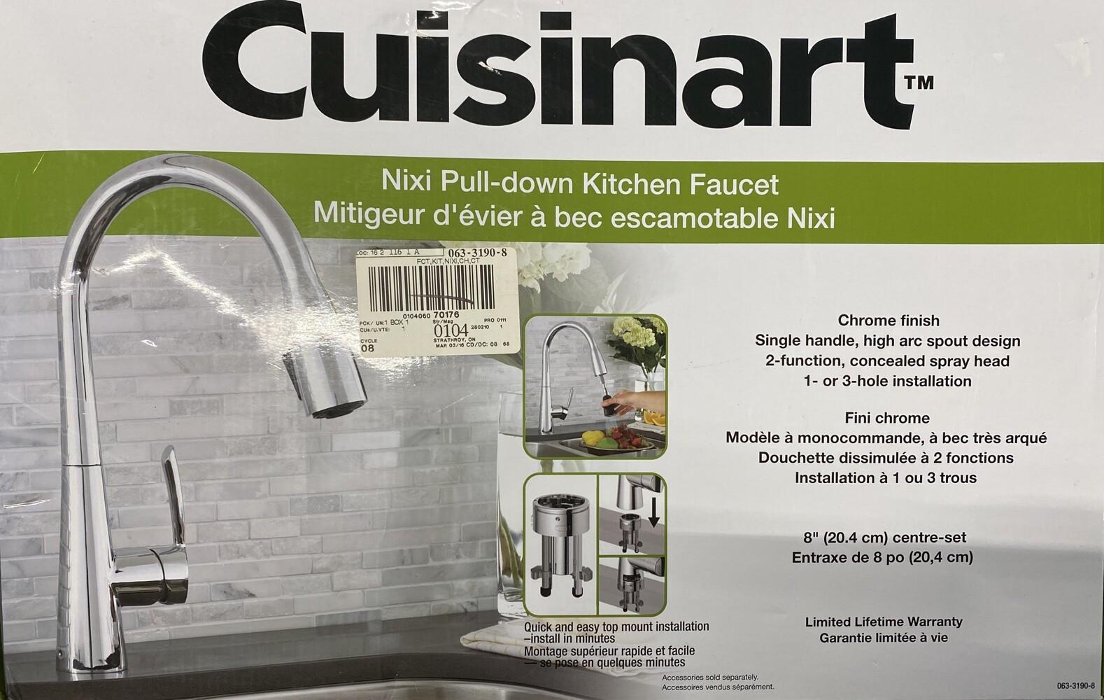 Cuisinart Nixi Pull Down Kitchen Faucet Avenue Shop Swap Sell